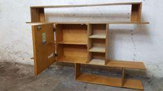 Stylowa szafka z polkami Bytom - image 2