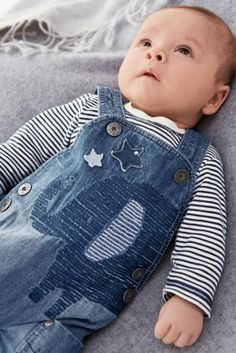 Buy Elephant Denim Dungarees Set (0-18mths) online today at Next: United States of America