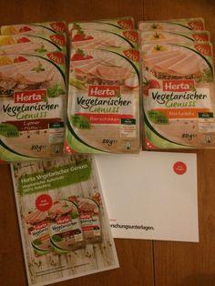 Herta vegetarischer Genuss im Test mit TRND #herta #vegetarisch #trnd #produkttest