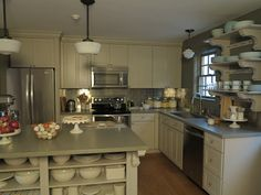 Martha Stewart cabinets  | ... stewart s guest house in maine built using the martha stewart cabinets