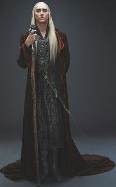 Lee Pace as Thranduil, King of the Woodland Realm | The Hobbit: The Desolation of Smaug.