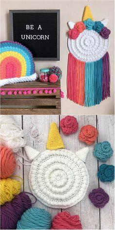 Crochet Butterfly Pattern, Crochet Flowers, Crochet Patterns, Crochet Bunting, Crochet Pillow, Crochet Home Decor, Crochet Crafts, Crochet Cord, Free Crochet