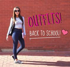 School Outfit! #casualoutfit #universityoutfit #collegeoutfit #ottd