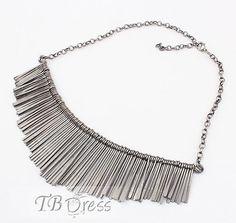 Gorgeous Tassel Alloy Lady's Necklace