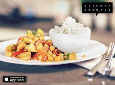 """Ik ben """"Romige Indiase curry met kipfilet"""" aan het koken met @1KitchenStories - Gratis Download http://itunes.apple.com/app/id771068291"""