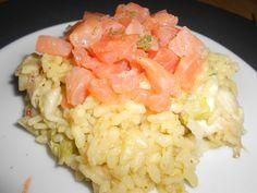 Risotto saumon chou chinois 2
