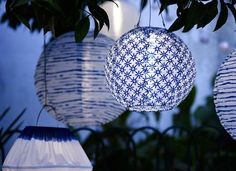 The possibilities for including LED lights into your outdoor decor are endless! Try one in your backyard this spring.