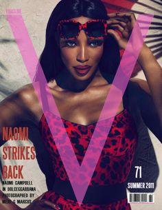 Naomi for V magazine