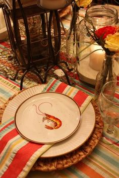 Sweet Something Designs: Creole Tablescape...from D.H. Holmes