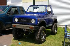 1988 Suzuki Samurai Powered By A 355 Chevy V-8