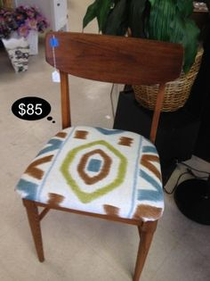 Check out the high end fabric on this vintage contemporary vintage chair.      YESTERDAYS TREASURES CONSIGNMENT    Brentwood ~ 1185 Second Street Suite H (925) 516 - 8549