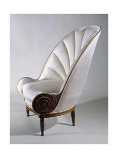Paul Iribe Art Deco Style Armchair ca 1913