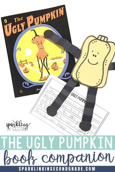 The Ugly Pumpkin Book Companion with activities and crafts. Read this book just after Halloween and before Thanksgiving! Halloween Books, Halloween Activities, Autumn Activities, Thanksgiving Activities, Teaching Activities, Teaching Reading, Learning, Fall Classroom Decorations, Pumpkin Books