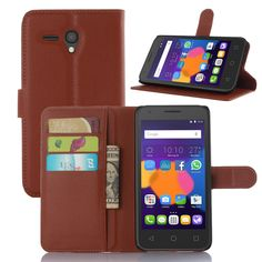 Free Shipping for Alcatel case High Quality PU Leather wallet flip Case for Alcatel One Touch Pixi3 5.5 inchs Phone Cover Case