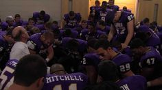 UNI Football Celebrates 2013 Win Over Youngstown State