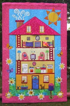 MISS MOLLY'S DOLL HOUSE - I WANT to make this!!!