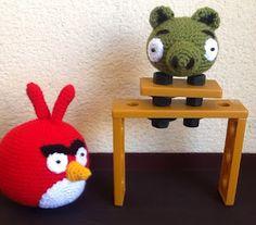 Angry Bird en crochet