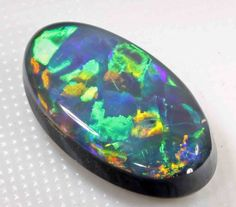 5.50 CT GEM BLACK OPAL black opal .lightning ride opal , ridge opal, solid opal , Australian opal , gem opal , fire opal, best black opal