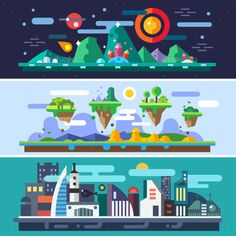 Landscapes of the Future, New Technologies - Landscapes Nature