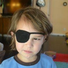 Felt pirate patch easy and super cute!