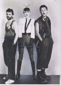 Ringo, Barbara Bach  Paul McCartney!