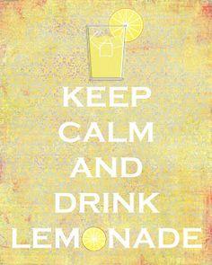 The Layered House: Lemonade Sign