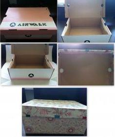 Shoebox Crafts : Shoe Box Gift DIY