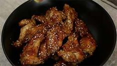 Sesame Chicken Wings Recipe and Video