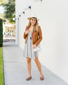J's Everyday Fashion provides outfit ideas, budget fashion, shopping on a budget, personal style inspiration, and tips on what to wear. Camo Dress, Shirt Dress, Js Everyday Fashion, Fashion Pictures, Fashion Ideas, Striped Dress, Spring Summer Fashion, Dress Making, Panama Hat