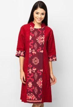 Batik Dress Qonita by Amarta Nawa SP1532