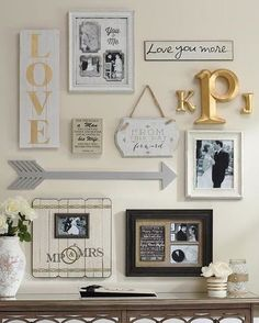 From finials to wall plaques and printed pillows to frames, arrow accents…