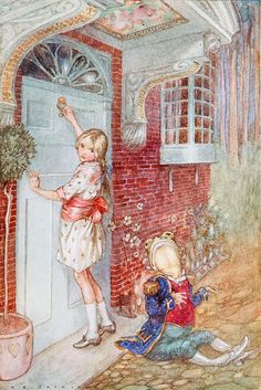 Alice In Wonderland by A.E. Jackson [©1904]