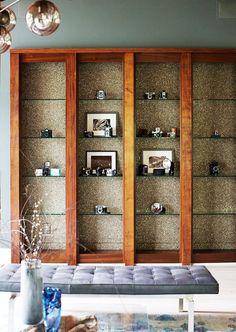36 Brilliant Ways to Beautify Boring Bookshelves | Brit + Co