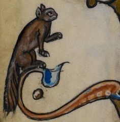 Detail from medieval manuscript, British Library Stowe MS 17 'The Maastricht Hours', f115v
