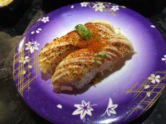 Spicy grilled salmon nigiri. One of my favourites.   - Sushi Rio,  Sydney, NSW, 2000 - TrueLocal