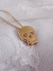 $15 Petite Skull charm necklace. Lead/nickel free. at https://shopsto.re/items/1499 #accessories #jewelry