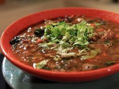 Get Sausage, Kale, and Lentil Soup Recipe from Food Network