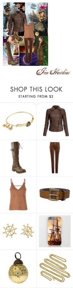 """""""//Jim Hawkins\\ --Treasure Planet--"""" by kai-noel ❤ liked on Polyvore featuring Disney, Alex and Ani, MuuBaa, Loro Piana, Glamorous, Gucci, Napier and Cultural Intrigue"""