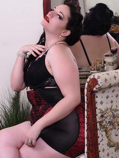 Photography by Joel Jeffrey  Model; Mandi Mae   #plussizemodel #plussizefashion  #lingerie