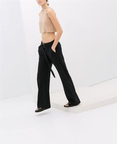 Image 3 of CROPPED STUDIO TOP from Zara