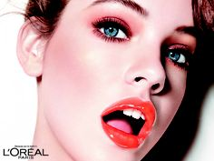 Miss Candy Glam Shine - vibrant orange www.loreal-paris.co.uk #MissCandy #lipglosss #glam