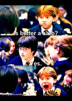 Later Harry became a Mean Girl himself, accusing Professor McGonagall of dealing drugs in the Burn Book.