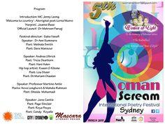 Woman Scream: Michele Seminara previews the Second Sydney International Women's Poetry Festival