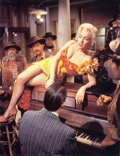 """Marilyn Monroe in """"RIVER OF NO RETURN"""""""