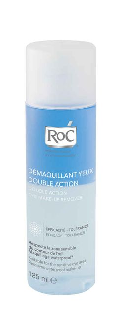 ROC DEMAQUILLANTE YEUX DOUBLE ACTION 125ml