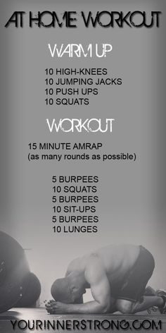 15 Minute at Home or Hotel Workout
