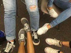 #vans sisters and converses...shoes are awesome