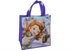 Sofia the First large tote bag for only $2.82! Shop unbeatable prices now at maysmerchandise.com! #disney #sofiathefirst #totebag