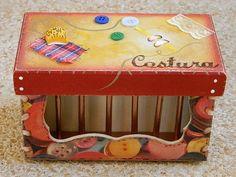 Caixa de Costura Mini   Maison Ateliê   Elo7