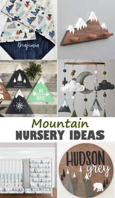Mountain Nursery Ideas – For the Perfect Baby Room - A More Crafty Life